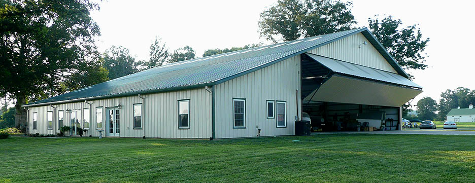 Hangar Home For Sale Hensley Airpark Tn