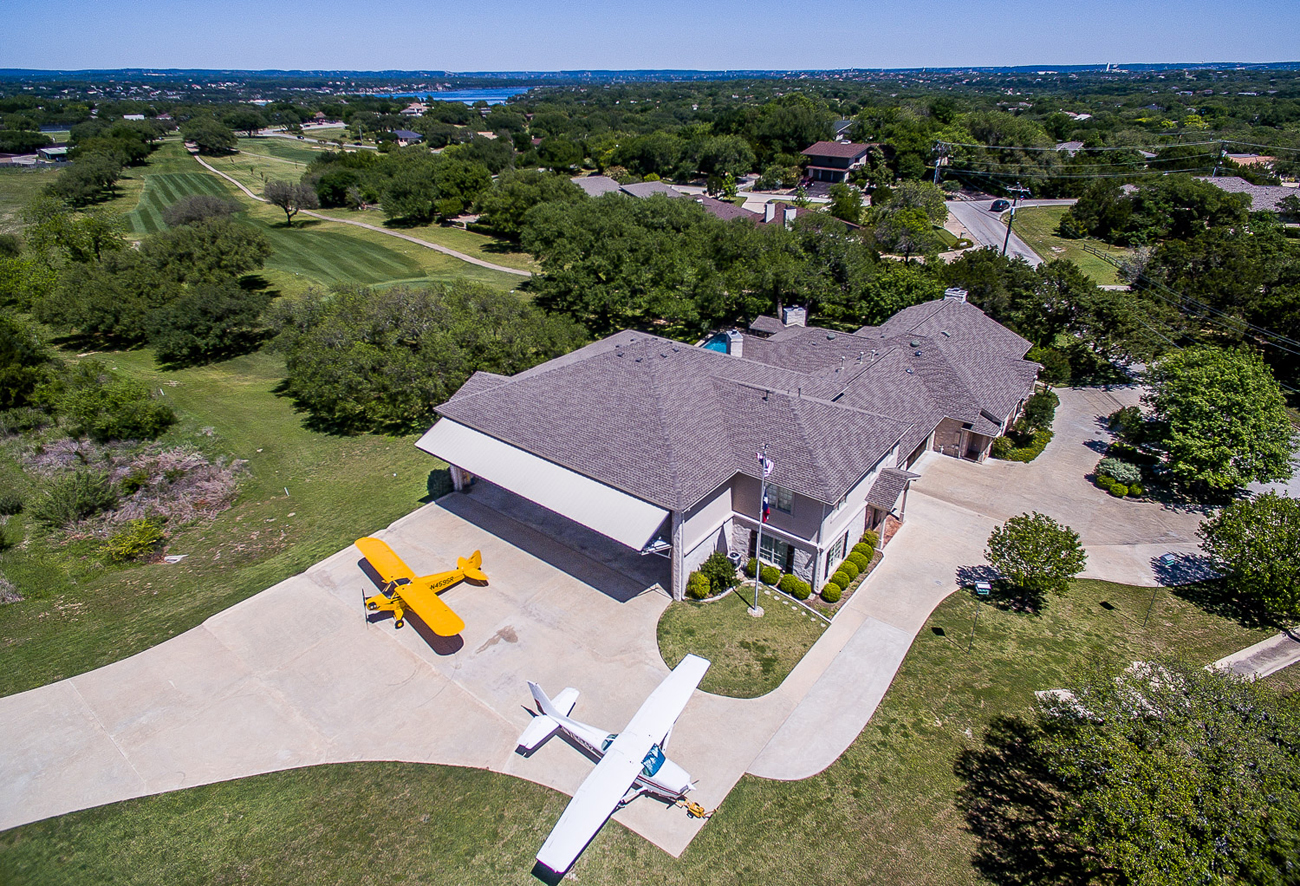 Airport Properties U0026 Homes With Hangars For Sale Lakeway,Texas Hill Country  (3R9)