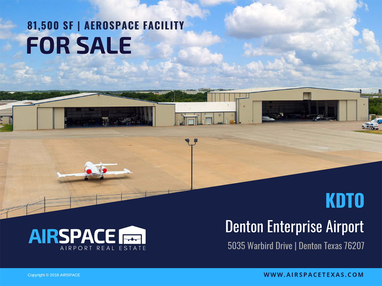 Texas Airports, Hangars and Lots for Sale, Hangars and