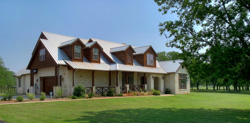 Texas hill country ranch homes Country home builders in texas